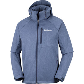 Columbia Cascade Ridge II Kurtka Softshell Mężczyźni, collegiate navy heather